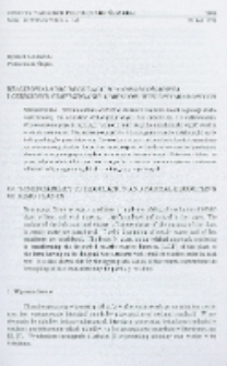 Realizowalność regulacji stałowartościowej i częściowe odsprzęganie obiektów wielowymiarowych
