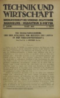 Technik und Wirtschaft : Monatsschrift des Vereines Deutscher Ingenieure, Jg. 12, H. 3