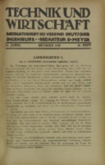 Technik und Wirtschaft : Monatsschrift des Vereines Deutscher Ingenieure, Jg. 12, H. 10