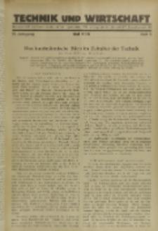 Technik und Wirtschaft : Monatsschrift des Vereines Deutscher Ingenieure, Jg. 21, H. 5