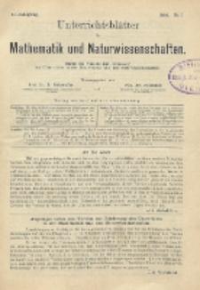 Unterrichtsblätter für Mathematik und Naturwissenschaften, Jg. 2, No. 1