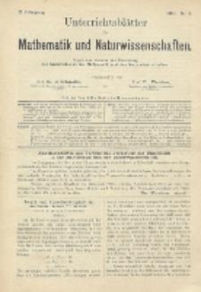Unterrichtsblätter für Mathematik und Naturwissenschaften, Jg. 2, No. 2