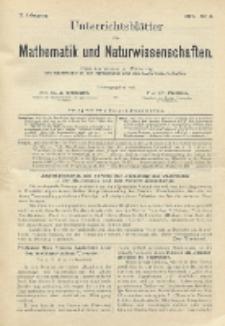 Unterrichtsblätter für Mathematik und Naturwissenschaften, Jg. 2, No. 3