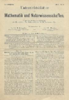 Unterrichtsblätter für Mathematik und Naturwissenschaften, Jg. 2, No. 5