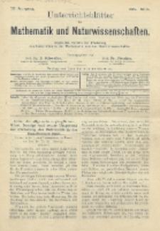 Unterrichtsblätter für Mathematik und Naturwissenschaften, Jg. 3, No. 6