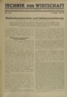 Technik und Wirtschaft : Monatsschrift des Vereines Deutscher Ingenieure, Jg. 23, H. 5