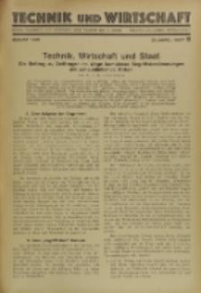 Technik und Wirtschaft : Monatsschrift des Vereines Deutscher Ingenieure, Jg. 23, H. 8