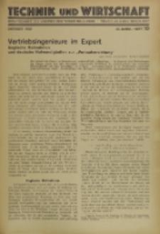 Technik und Wirtschaft : Monatsschrift des Vereines Deutscher Ingenieure, Jg. 23, H. 10