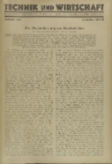 Technik und Wirtschaft : Monatsschrift des Vereines Deutscher Ingenieure, Jg. 22, H. 2