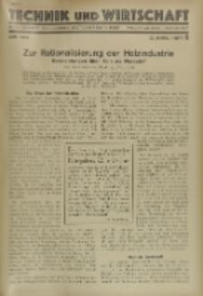 Technik und Wirtschaft : Monatsschrift des Vereines Deutscher Ingenieure, Jg. 22, H. 6