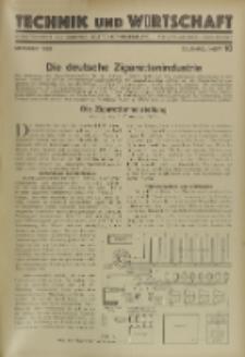 Technik und Wirtschaft : Monatsschrift des Vereines Deutscher Ingenieure, Jg. 22, H. 9