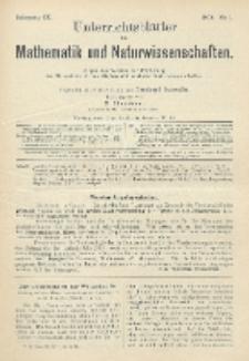 Unterrichtsblätter für Mathematik und Naturwissenschaften, Jg. 9, No. 1