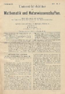 Unterrichtsblätter für Mathematik und Naturwissenschaften, Jg. 9, No. 6