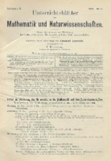 Unterrichtsblätter für Mathematik und Naturwissenschaften, Jg. 10, No. 2