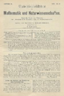 Unterrichtsblätter für Mathematik und Naturwissenschaften, Jg. 10, No. 3