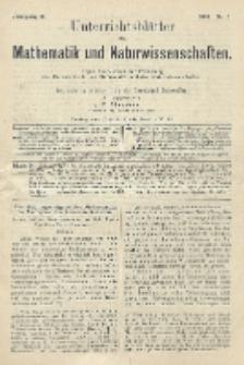 Unterrichtsblätter für Mathematik und Naturwissenschaften, Jg. 10, No. 5