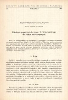 Ustalenie poprawki do wzoru Z. Wusatowskiego dla kilku stali stopowych