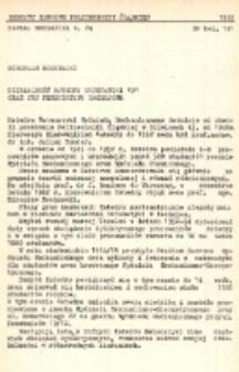 """Działalność Katedry Matematyki """"D"""" oraz jej perspektywy rozwojowe"""
