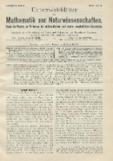 Unterrichtsblätter für Mathematik und Naturwissenschaften. Jg. 22, No. 3