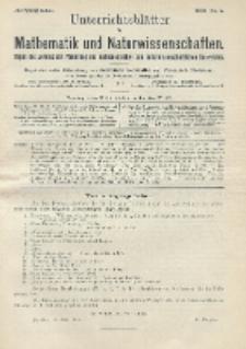 Unterrichtsblätter für Mathematik und Naturwissenschaften. Jg. 22, No. 5