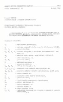 Sformułowanie zagadnienia optymalnego sterowania procesem mrożenia górotworu