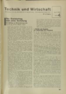 Technik und Wirtschaft : Monatsschrift des Vereines Deutscher Ingenieure, Jg. 29, H. 4