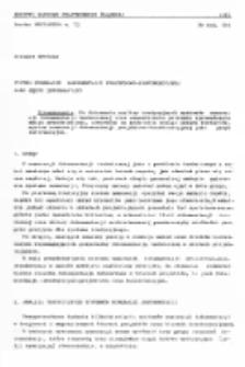 System numeracji dokumentacji projektowo-konstrukcyjnej jako język informacyjny