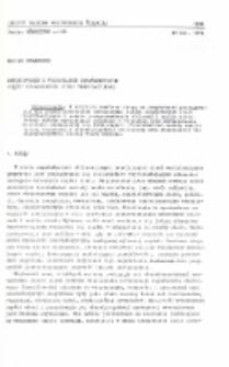 Definiowanie i wyznaczanie charakterystyk części kopalnianych sieci wentylacyjnych