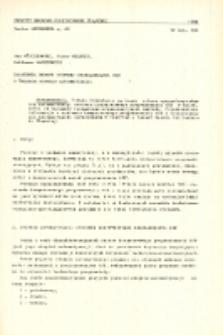 Założenia budowy systemu programowania OSN o średnim stopniu automatyzacji