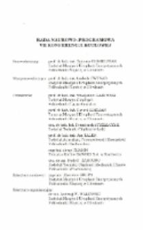 Rada Naukowo-Programowa VII Konferencji Kotłowej