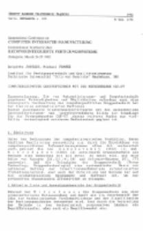 Computergestütze Gruppentechnik mit der Methodenbank CAP-GT