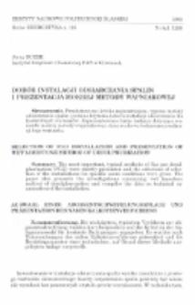 Dobór instalacji odsiarczania spalin i prezentacja mokrej metody wapniakowej