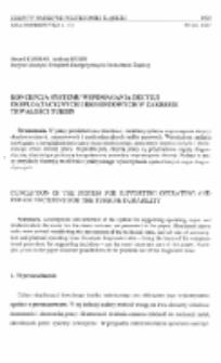 Koncepcja systemu wspomagania decyzji eksploatacyjnych i remontowych w zakresie trwałości turbin