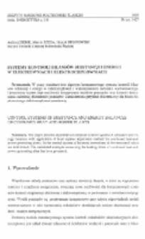 Systemy kontroli bilansów substancji i energii w elektrowniach i elektrociepłowniach