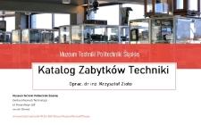 Katalog Zabytków Techniki. Dział 3. Sprzęt fotograficzny i filmowy.
