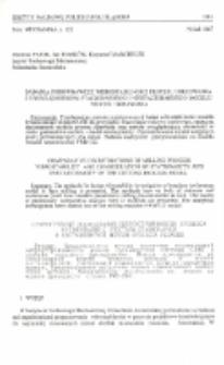 Badania porównawcze wibrostabilności procesu frezowania z uwzględnieniem stacjonarnego i niestacjonarnego modelu procesu skrawania