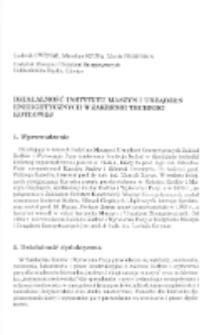 Działalność Instytutu Maszyn i Urządzeń Energetycznych w zakresie techniki kotłowej