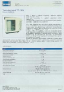 Termohigrograf TZ-18 td