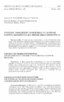 Systemy podgrzewu powietrza do kotłów. Rozwój konstrukcji i metod obliczeniowych