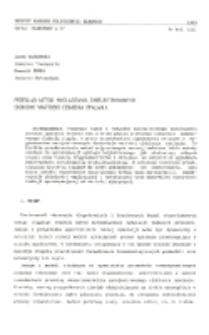 Przegląd metod wygładzania zarejestrowanych skokowo wartości ciśnienia spalania