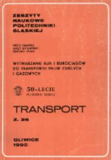 Wytwarzanie rur i rurociągów do transportu paliw ciekłych i gazowych