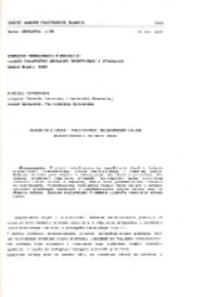 Zagadnienia drgań i stateczności nieswobodnego układu mechanicznego o zmiennej masie