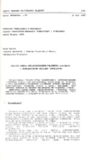 Analiza modelu wielowarstwowego połączenia klejowego z uwzględnieniem obciążeń termicznych