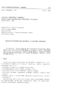 Badania eksperymentalne właściwości dynamicznych obrabiarek