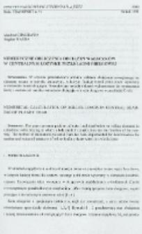 Numeryczne obliczenia obciążeń wałeczków w centralnym łożysku przekładni obiegowej