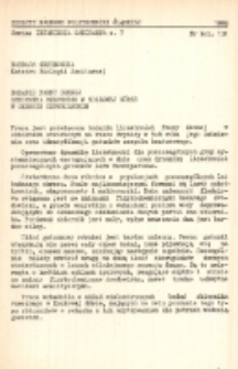 Badanie fauny dennej zbiornika rzecznego w Kozłowej Górze w okresie czteroletnim