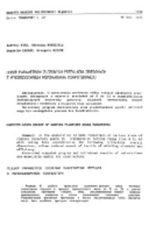 Dobór parametrów złożonych przekładni obiegowych z wykorzystaniem wspomagania komputerowego