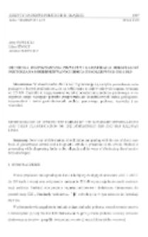 Metodyka rozpoznawania przyczyn i klasyfikacja odkształceń podtorza na modernizowanych drogach kolejowych ZSR i PKP
