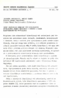 Próby porównania chemizmu wód kopalnianych Rybnickiego Okręgu Węglowego w oparciu o znane klasyfikacje wód naturalnych