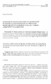 """Wybrane problemy diagnostyki hamulców w wagonach pasażerskich na podstawie doświadczeń Wagonowni i Zakładu Taboru """"Grochów"""" w Warszawie"""